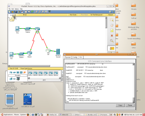 Tutorial packet tracer how to create a packet tracer activity.